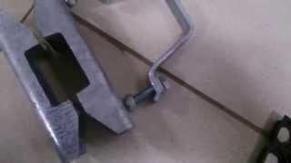 Крепление передней точки  кузова легкового прицепа к дышлу. Кронштейн в сборе(Кронштейн в сборе. Крепление передней точки кузова легкового прицепа к дышлу. Серийное изделие, выпускаемо..., 2015-11-07T16:58:54.000Z)