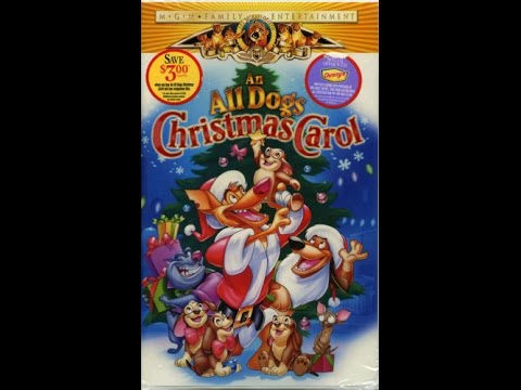 opening to an all dogs christmas carol 1998 vhs - All Dogs Christmas Carol