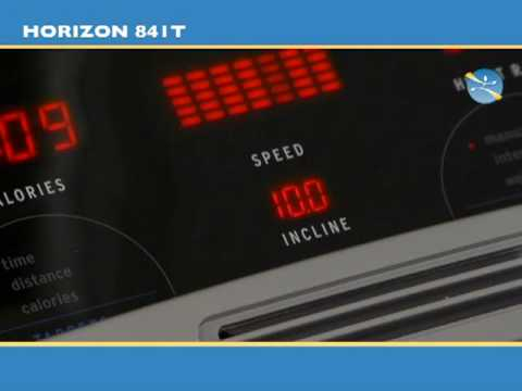 Tapis De Course Horizon 841t Tool Fitness Youtube