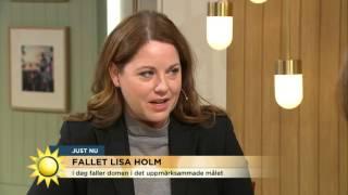 Domen mot misstänkta Lisa Holm-mördaren faller idag - Nyhetsmorgon (TV4)