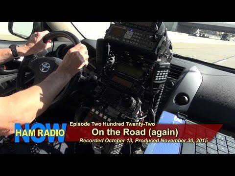 HRN 222: On the Road (Again) on HamRadioNow