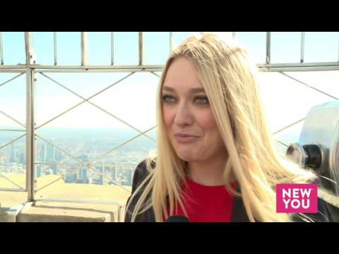 Dakota Fanning Lights The Empire State Building In Honor Of International Day Of The Girl