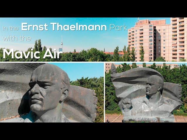 In the Ernst Thaelmann Park.