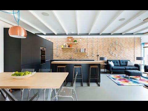 Modern kitchen dining room combo ideas