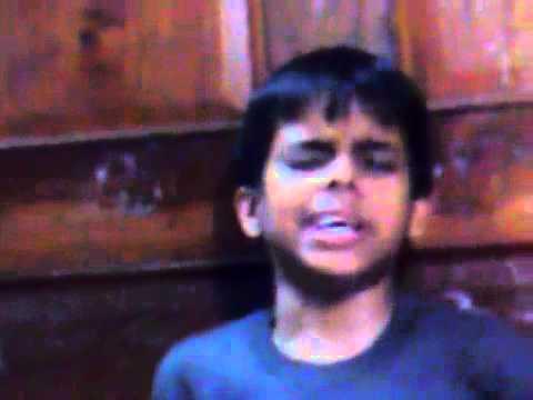 indian boy singing laga Chunri Mein Daag