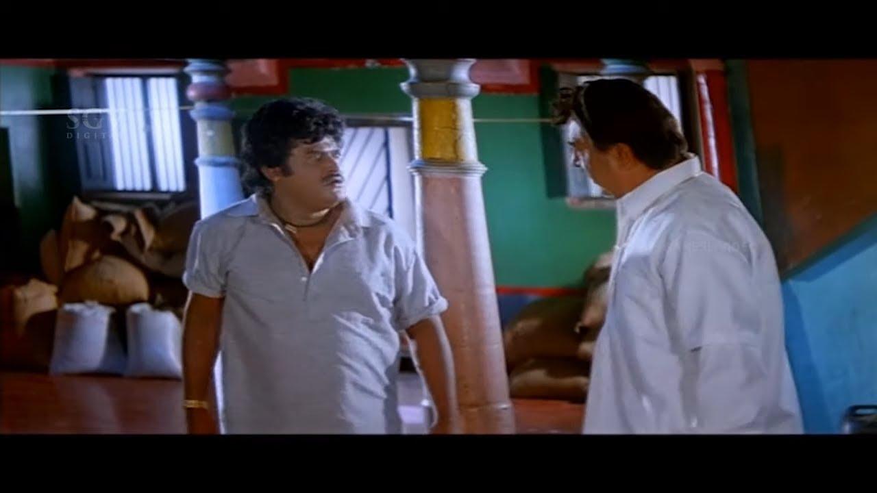 Village People Misunderstands & Scolds Jaggesh | Bhairava Kannada Movie Best Scene | Nandini Singh