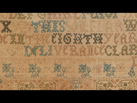 1685 Rhode Island Sampler | Web Appraisal | Indianapolis