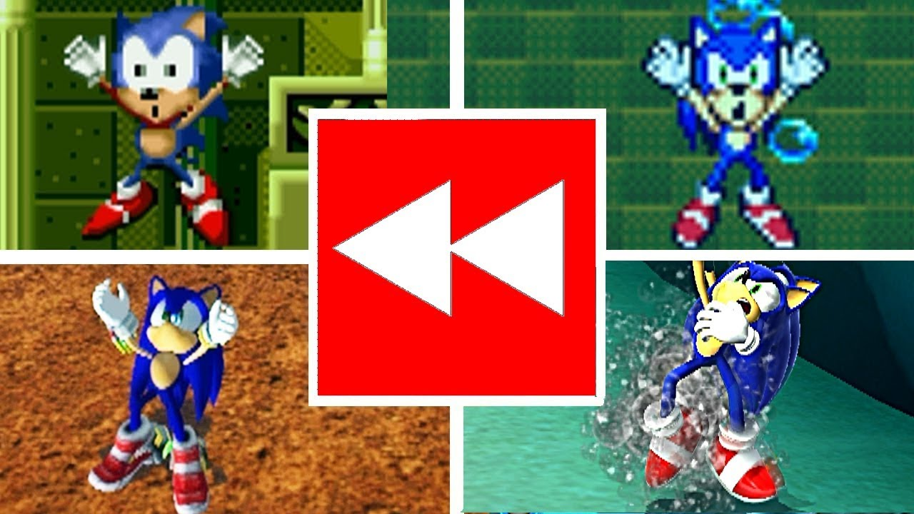 Download Evolution Of SONIC DROWNING In REVERSED - Sonic The Hedgehog Series (1991-2017)