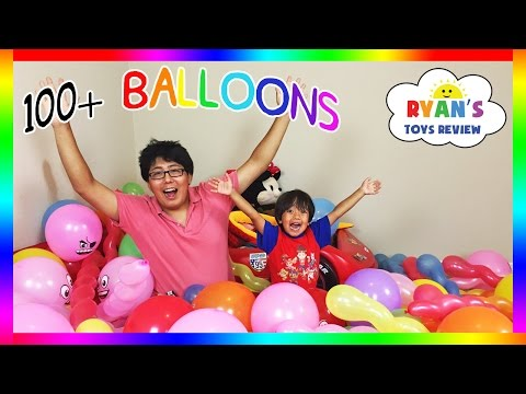 Thumbnail: TOYS SURPRISE HUGE BALLOON POP CHALLENGE PARTY Disney Cars Marvel Thomas Train Egg Surprise Toy