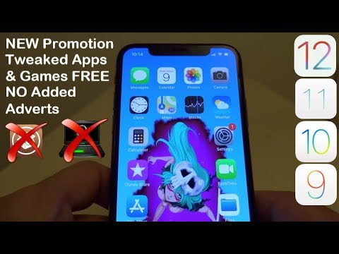 NEW 2019 Install Tweaked Apps & Games FREE iOS 12 - 12 4 / 11 / 10 NO  Jailbreak iPhone iPad iPod