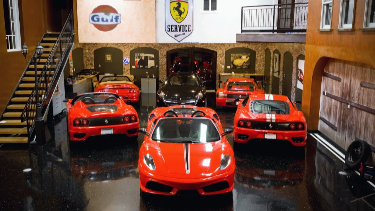 For 600K You Can Keep Your Car In This Ultimate Man Cave