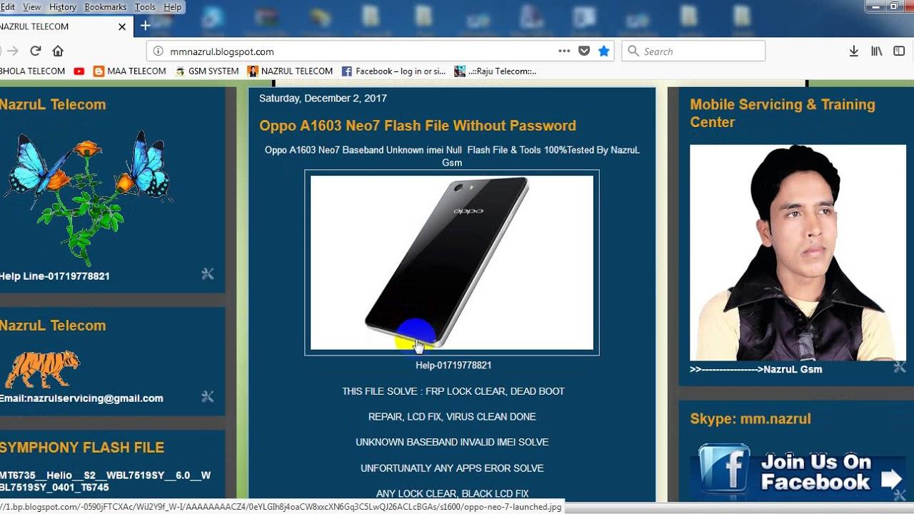 Airmax A16 Flash File & Tools