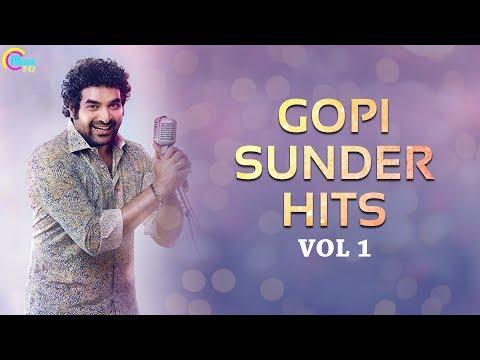 Bests of Gopi Sunder Vol 1   Nonstop Malayalam Hits by Gopi Sunder