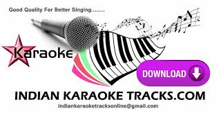KOI YAHAN NACHE NACHE REMIX KARAOKE DISCO DANCER USHA UTHUP INDIAN KARAOKE TRACKS