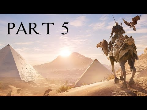 Assassin's Creed Origins Walkthrough Part 5 - BOOK OF THE DEAD (AC Origins Let's Play Commentary)
