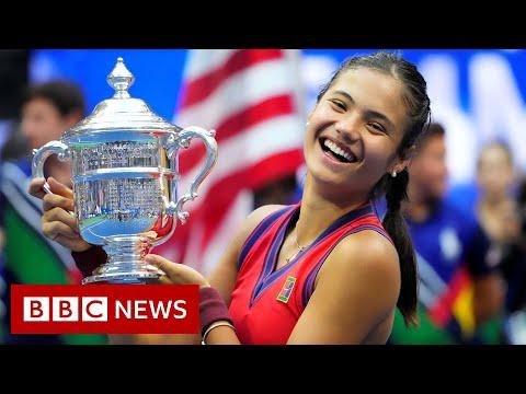 Britain's Emma Raducanu wins US Open Tennis Championship aged 18 - BBC News