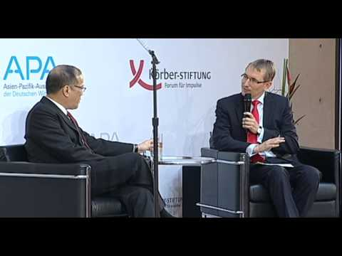 President Benigno S. Aquino III gave speech in Berlin