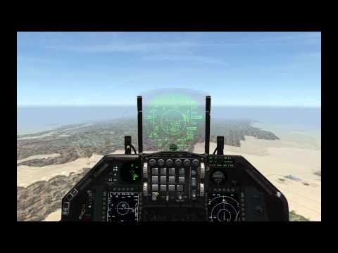 Falcon 4 BMS The Battle for Damascus, Israel F-16i Wild Weasel