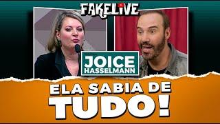 JOICE HASSELMANN FALA A VERDADE DAS FAKENEWS - DIOGO PORTUGAL FAKELIVE