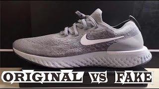 Nike Epic React Flyknit Grey Original Fake Youtube