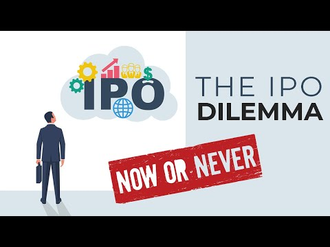 The IPO Dilemma-Now or Never