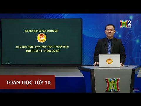 MÔN TOÁN - LỚP 10   CÔNG THỨC LƯỢNG GIÁC (TIẾT 1)   13H30 NGÀY 07.05.2020   HANOITV