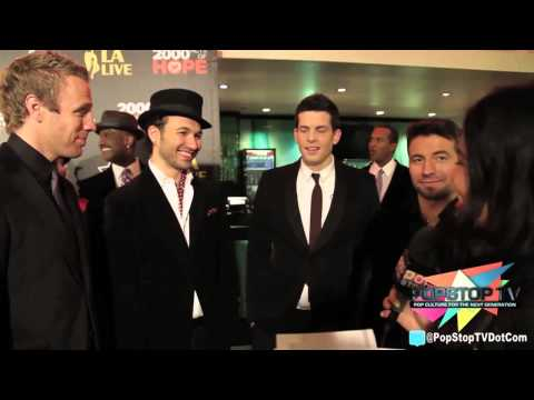 The Canadian Tenor interview at L.A. Live Christmas Tree Lighting