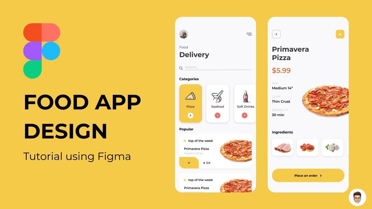 Food App Design - Figma Tutorial