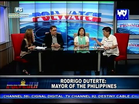 UNTV Life: Polwatch - Rodrigo Duterte, Mayor of the Philippines