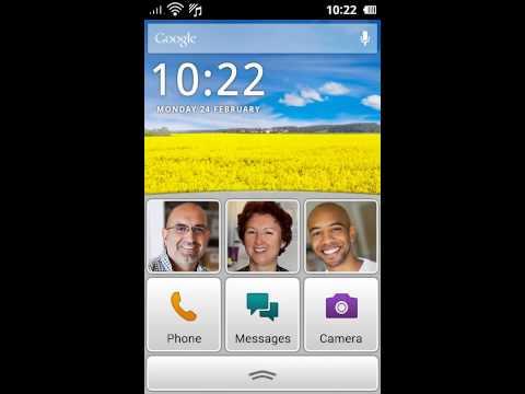 Doro Liberto® 810 demo UI UK