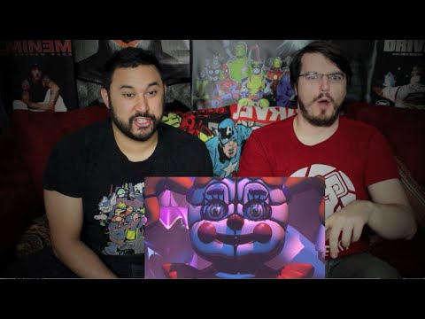 FIVE NIGHTS AT FREDDY'S SISTER LOCATION TRAILER REACTION & REVIEW!!!