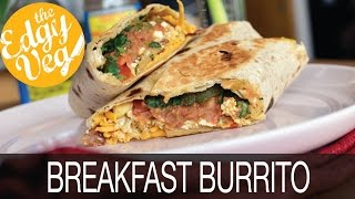 Vegan Recipe: Best Breakfast Burrito  The Edgy Veg