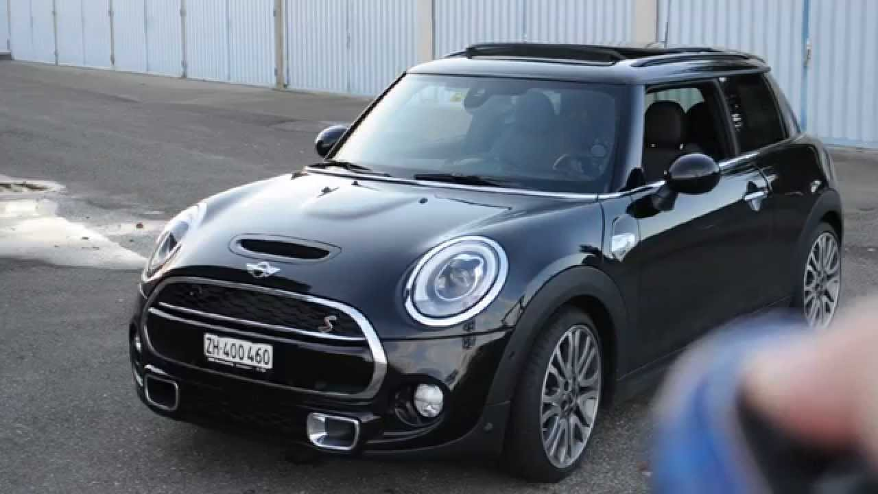 Mini Cooper S F56 Opening Windows Unfolding Mirrors Opening Panoramic Sunroof Using Remote Key
