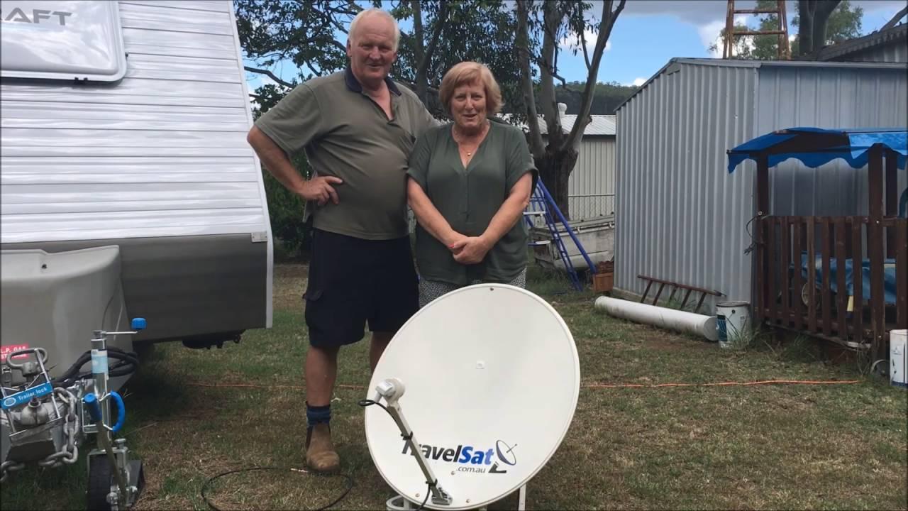 TravelSat Australia - Customer Testimonial (Ian & Desley)