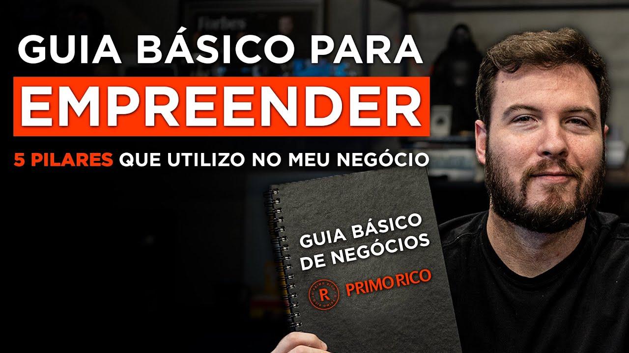GUIA BÁSICO PARA EMPREENDER MELHOR! | Aprenda como fazer da sua EMPRESA + PRODUTIVA com 5 pilares!