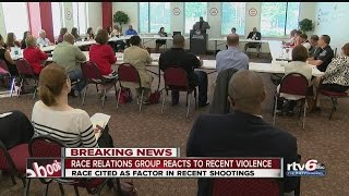 Race relations group reacts to recent violence