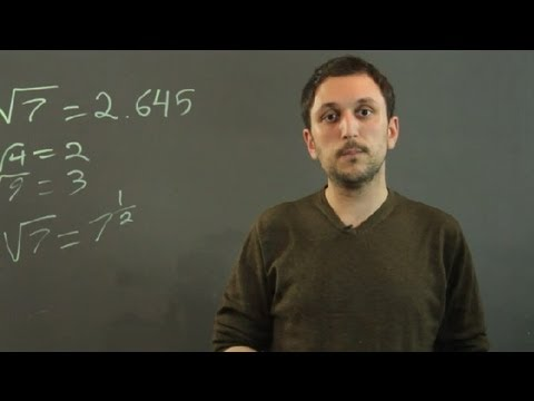 What Is the Square Root of 7? : Algebra,...