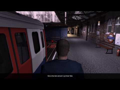 World Of Subways 3 – London Underground Circle Line - Mission 8 (Bridge Maintenance) |