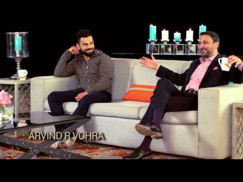 Know Why Virat Kohli Chose Gionee - Green Tea With Gionee Episode 1