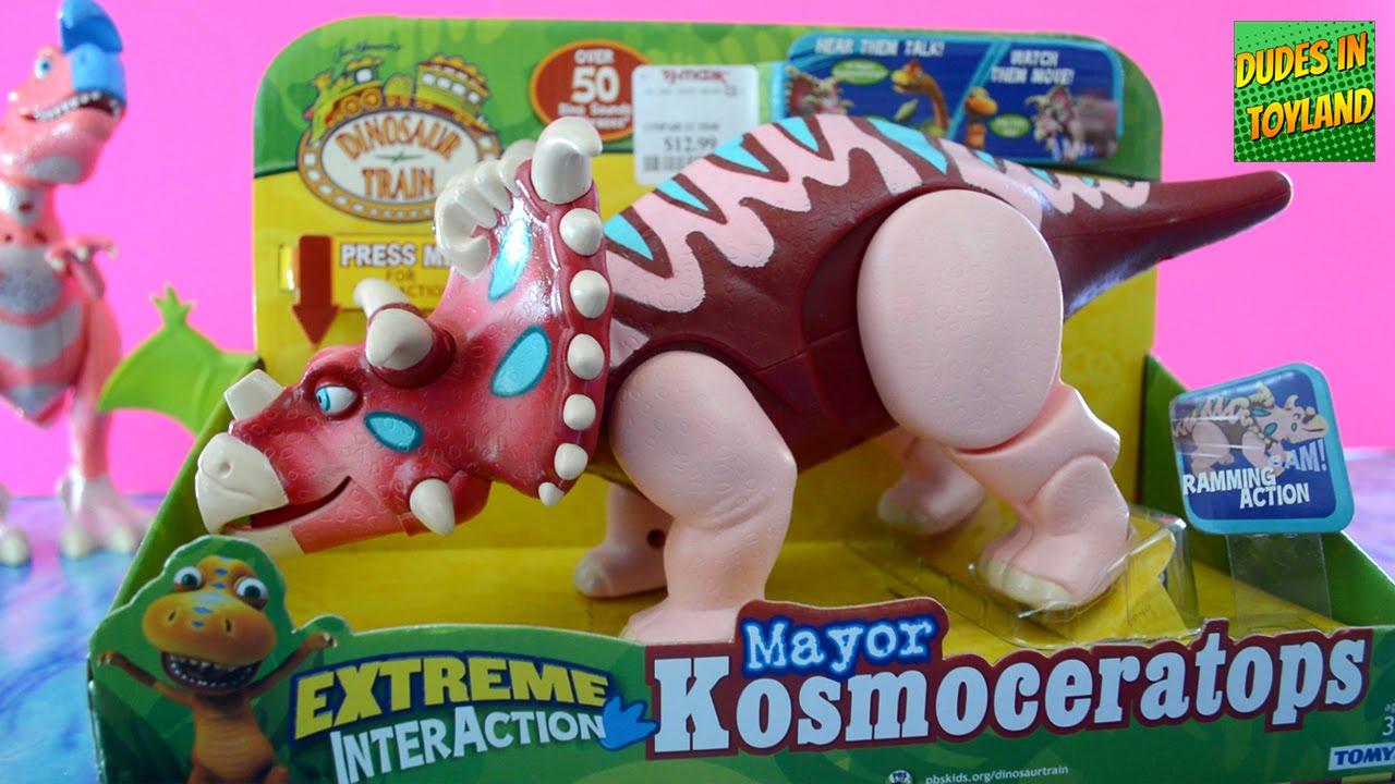 Dinosaur Train toys Mayor Kosmoceratops Extreme ...
