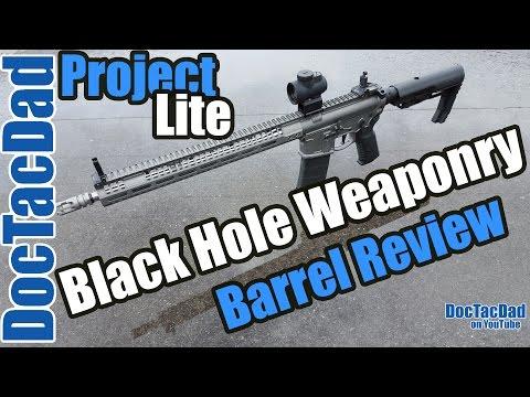 Lightweight AR-15 Barrel!!! - Black Hole Weaponry Barrel - Project Lightweight Carbine