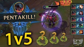 Best Pentakill Montage #30 - League of Legends (1v5, Perfect, 200IQ, Outplay...) | LoL