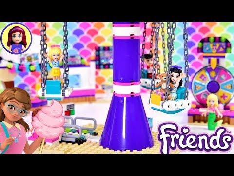 Heartlake City Amusement Pier 🎡 Lego Friends Set Build Review Silly Play
