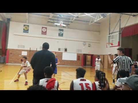 Lincoln Middle School 8th grade vs Clawson Middle School 8th grade(2)