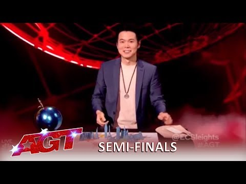 Download Eric Chien: Magician Has The Judges Flustered and Confused | America's Got Talent 2019