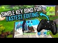 SIMPLE Key Bind for FASTEST EDITING (Closest to Builder Pro) Fortnite Battle Royale