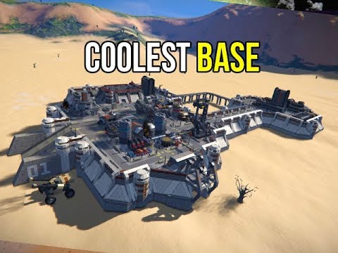 Space Engineers - The Coolest Desert Base Outpost