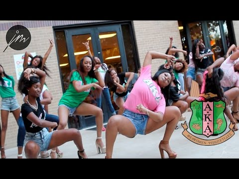 The 2014 Texas State Yard Show: Alpha Kappa Alpha Sorority Inc.