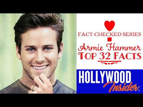 Fact Checked Series Armie Hammer And 32 Facts About Our Mega Star