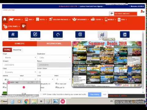 Online Ticketing Business Actual Video